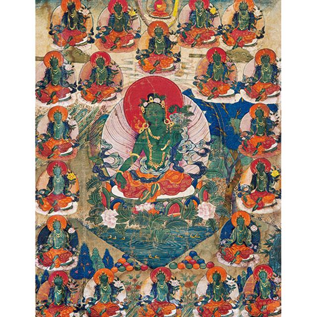 般若光华—中国古代唐卡艺术