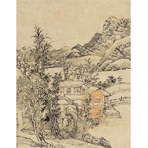 澄道——古代绘画夜场