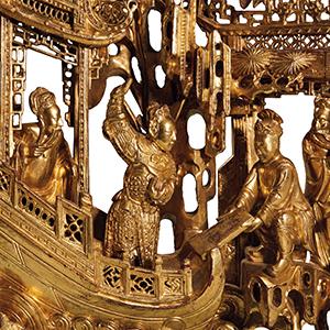 金雕细琢·潮州金漆木雕