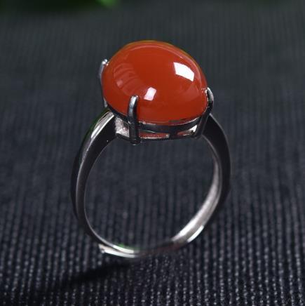 南红玛瑙戒指
