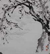 陈左黄(b.1918) 梅花
