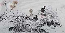 魏文峰(b.1949) 湖光秋色清溪长