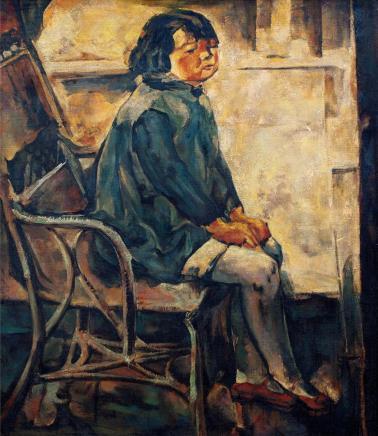 吴大羽 1903~1988  女孩