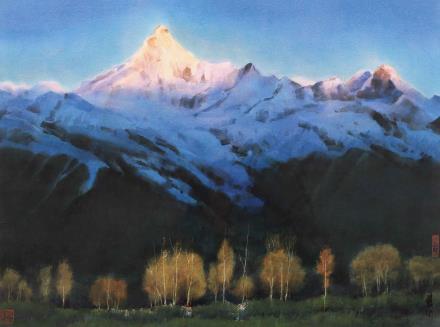 黄铁山 梅里雪山