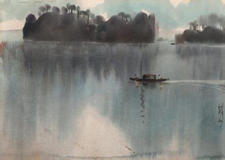 黄铁山 渔舟唱晚
