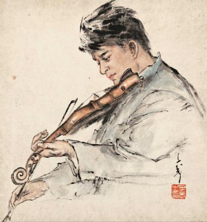 王子武 小提琴手