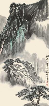 何海霞 西岳太华