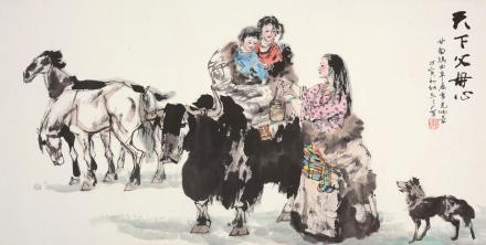 谢志高(b.1942)天下父母心