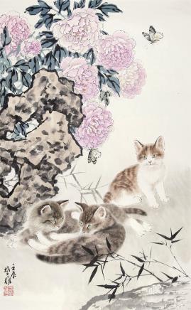 方楚雄(b.1950)富贵迎春