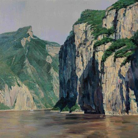 胡国栋   三峡•夔门
