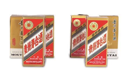 1990-1995年贵州茅台酒