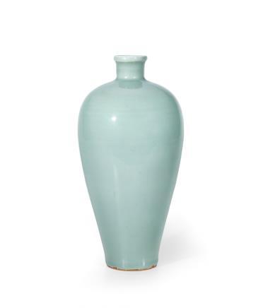 元 龙泉窑青釉梅瓶