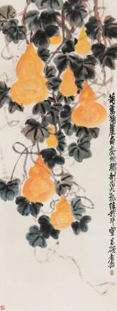 吴昌硕 1844-1927 福禄连绵