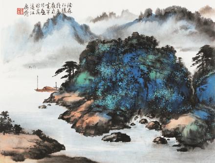 黄幻吾 1906-1985岭南小景