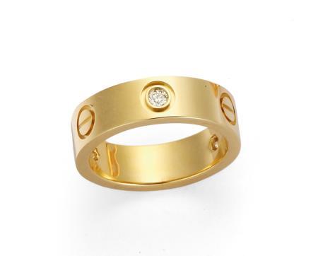 卡地亚 Cartier LOVE系列 钻石戒指