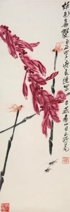 齐良迟(1921-2003)秋色无双