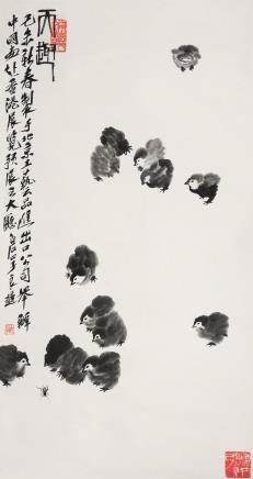 齐良迟(1921-2003)天趣