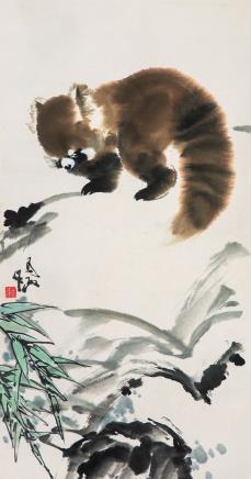 王为政(b.1944)小熊猫