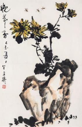 王雪涛(1903-1982)晚节香