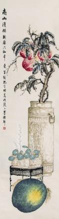 孔子瑜(1873-1926)南山清供