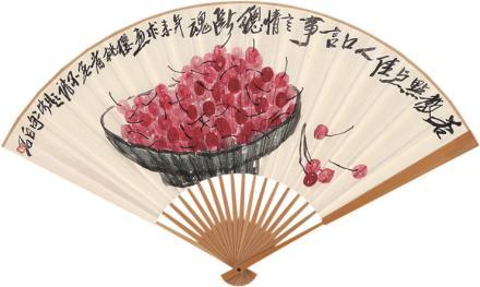 齐白石樱桃