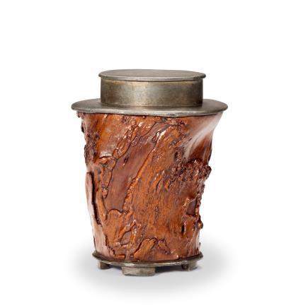 清  奇木茶叶罐