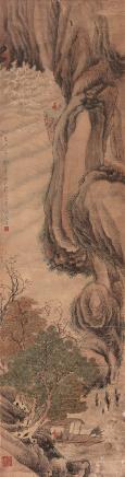 辛巳(1941)年作  唐云  观沧海