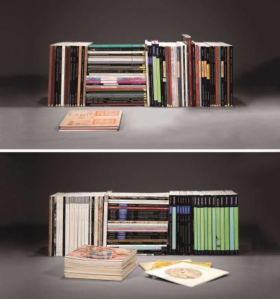 苏富比佳士得1978-2015年代古代书画图录 大套138册