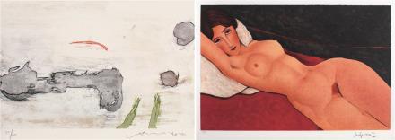 萧勤*阿梅代奥·莫迪利亚尼  限量复制品 《裸女》限量复制品