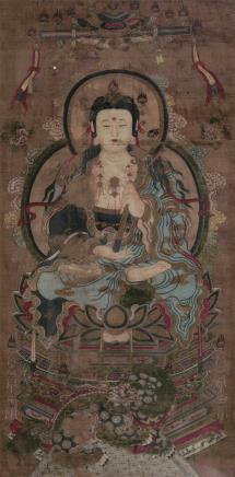 佚名    文殊菩萨像