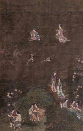 佚名    仙女祝寿图