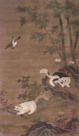 佚名    猫鹊图
