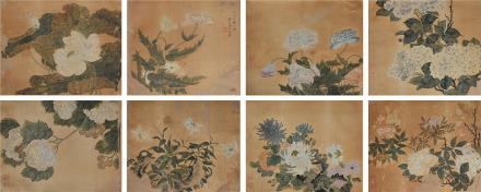 汤禄名  花卉8开