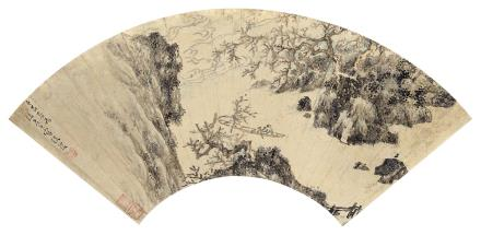 张復 1546-?泛舟图
