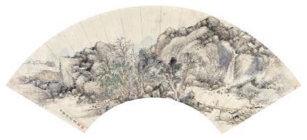 董诰 1740-1818访友图