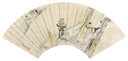 改琦 1773-1828拜月图