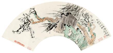 薛亮 b.1956梅石