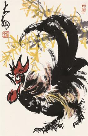陈大羽(1912-2001)大吉图