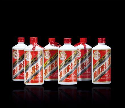 80年代飞天茅台酒(500ml铁)