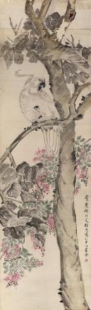 张熊(1803~1886)花鸟
