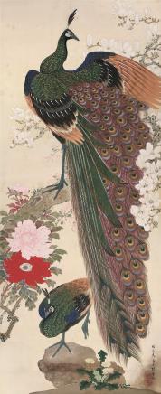 马晋(1900~1970)富贵呈祥