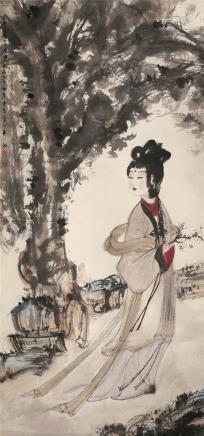 傅抱石(1904~1965)湘夫人