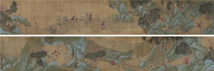 钱选(1239~1299)群仙图