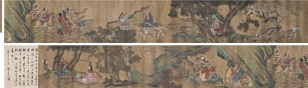 周昉(唐)画显神通图