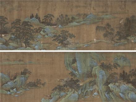 仇英(约1498~1552)春山高隐图
