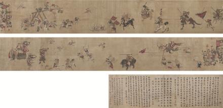 李公麟(1049~1106)揭钵图