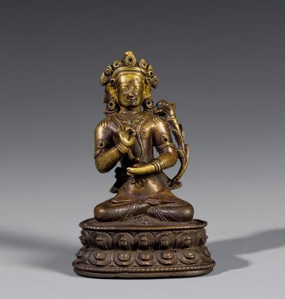 15世纪铜佛母坐像