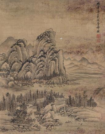 王翚(1632-1717)武夷叠嶂图