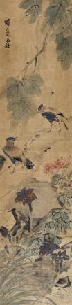 司马钟(清)花鸟
