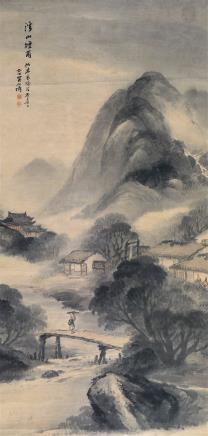 吴石仙(1848-1916)山水